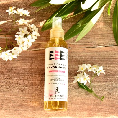 Shining oil - Capitaine Cosmétiques - Hair - Massage and relaxation