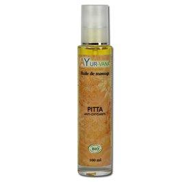 Organic Massage oil PITTA - AYURVANA - Massage and relaxation