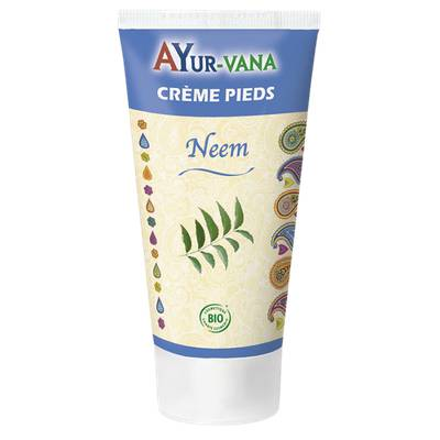 Crème Pieds au Neem - AYURVANA - Corps