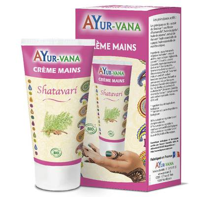Shatavari Hand Cream - AYURVANA - Body