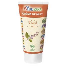 Crème nuit au Tulsi - AYURVANA - Visage