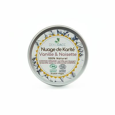 Nuage de Karité vanille et noisette - Déko D'Acc - Visage - Cheveux - Massage et détente - Corps