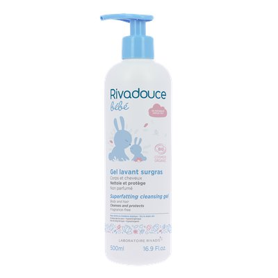 Superfatting cleansing gel - RIVADOUCE - Baby / Children