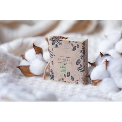 White gold soap - Savonnerie des Grands Lacs - Face - Body - Hygiene