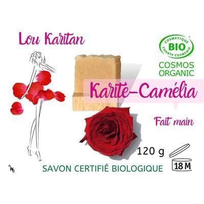 Savon Karité-Camélia - Lou Karitan - Hygiène