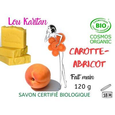 Savon Carotte-Abricot - Lou Karitan - Hygiène