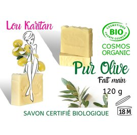 Pur olive soap - Lou Karitan - Hygiene