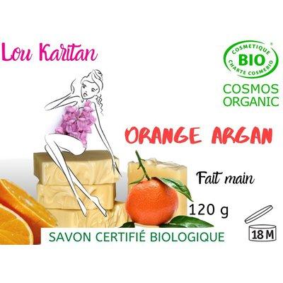 Savon Orange Argan - Lou Karitan - Hygiène