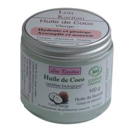 image produit Virgin coco oil
