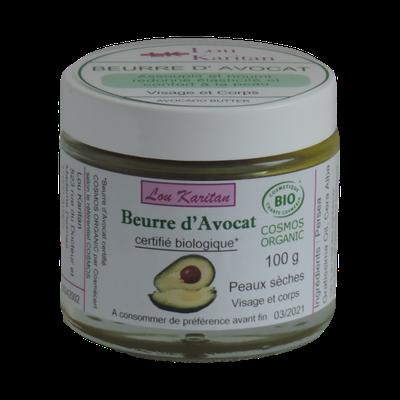 Avocado body butter - Lou Karitan - Face - Body