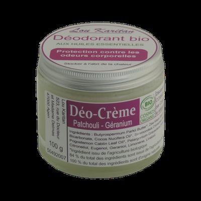 Déodorant crème - Lou Karitan - Hygiène