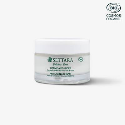 Crème nuit anti-rides - SETTARA - Visage