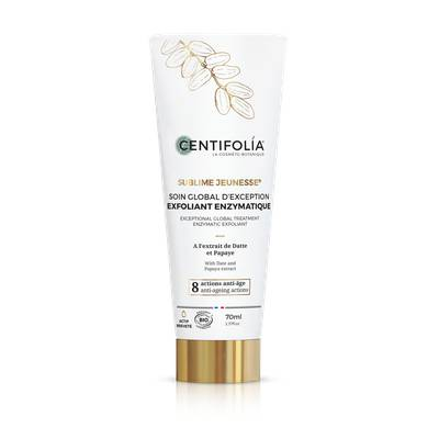 Exfoliant enzymatique anti-âge global - Centifolia - Visage