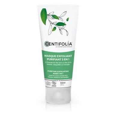 3-in-1 purifying exfoliating mask - Centifolia - Face