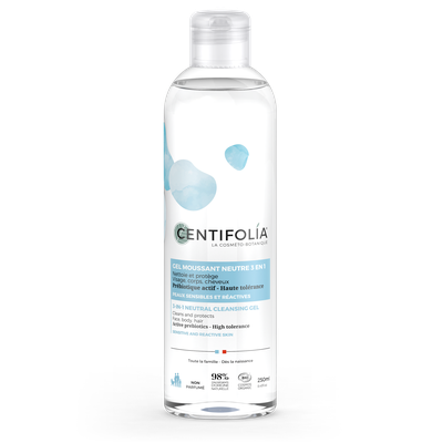 Gel moussant Neutre 3en1 - Flacon - Centifolia - Hygiène - Corps