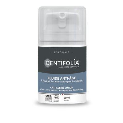 Fluide anti âge homme - Centifolia - Visage
