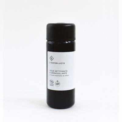 Huile nettoyante & démaquillante - Néroli - L'esperluète - Visage