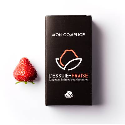 Intimate wipes for men - L'Essuie-Fraise - Hygiene