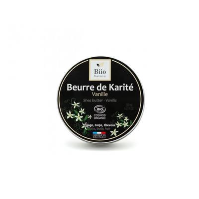 Beurre de karité Vanille - Biio Nature - Visage - Cheveux - Corps