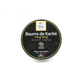 Beurre de kartié Ylang-Ylang - Biio Nature - Visage - Corps - Cheveux - Massage et détente