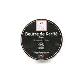 Shea butter - Damas Rose - Biio Nature - Face - Hair - Massage and relaxation - Body
