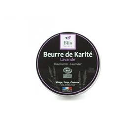Beurre de karité Lavande - Biio Nature - Visage - Corps - Cheveux - Massage et détente