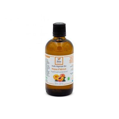 Huile végétale Noyaut d'abricot - Biio Nature - Visage - Cheveux - Massage et détente - Corps