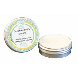 Dentifrice solide aux huiles essentielles de menthe poivrée et des champs (rechargeable) - AUTOUR DU BAIN - Hygiène