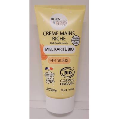 CREME MAINS RICHE - BORN TO BIO - Corps