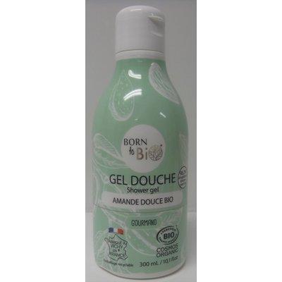 GEL DOUCHE AMANDE DOUCE - BORN TO BIO - Hygiène