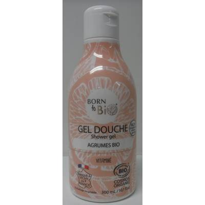 GEL DOUCHE AGRUMES - BORN TO BIO - Hygiène