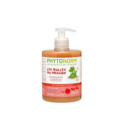 Shampoing-douche grenade-fruits rouges - PHYTONORM - Hygiène