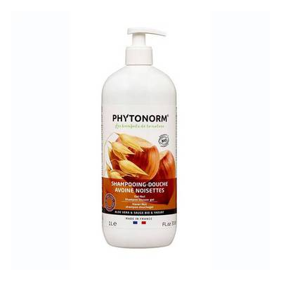 Shampoing douche avoine-noisettes - PHYTONORM - Cheveux