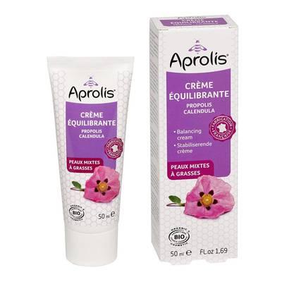 Crème équilibrante, propolis, calendula - APROLIS - Visage