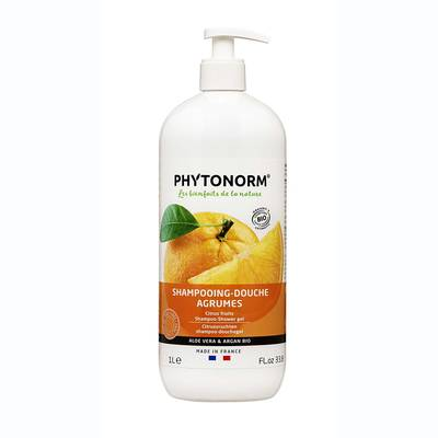 Shampoing-douche agrumes - PHYTONORM - Cheveux