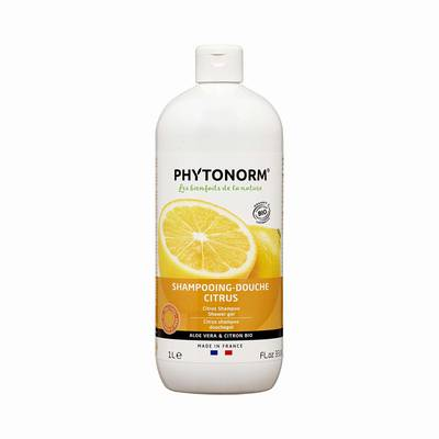 Shampoing-douche citrus   - PHYTONORM - Cheveux