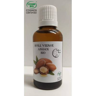 Argan Oil - Bulles de Nuages - Diy ingredients - Hair - Face - Massage and relaxation - Baby / Children - Body