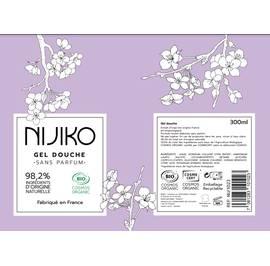 Gel Douche Sans Parfum - NIJIKO - Hygiène