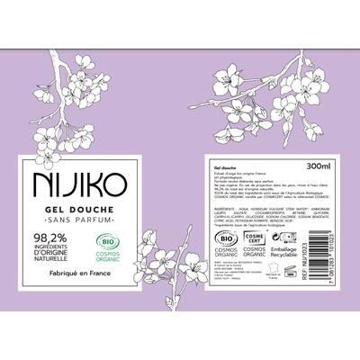 Gel Douche Sans Parfum - NIJIKO - Hygiene