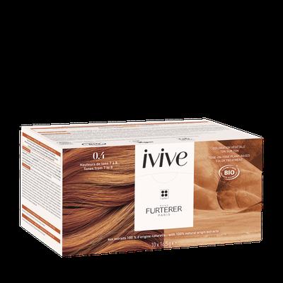 René Furterer 0.4 Cuivré pur - Coloration capillaire végétale professionnelle - IVIVE - RENE FURTERER - Cheveux