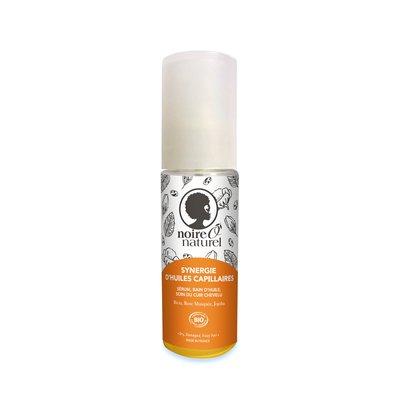 Synergie d'huiles capillaires 100% naturelle - NOIREÔNATUREL - Cheveux