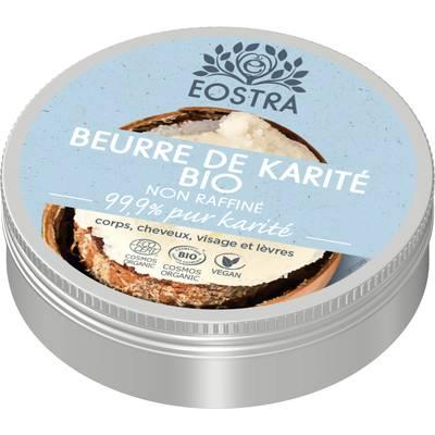 Beurre de Karité non raffiné - EOSTRA - Visage - Cheveux - Corps