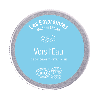 Le déodorant citronné VERS L'EAU - Les Empreintes made in Léman - Hygiène