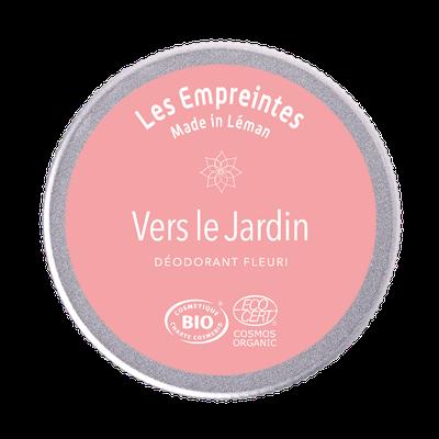 Le déodorant fleuri VERS LE JARDIN - Les Empreintes made in Léman - Hygiène