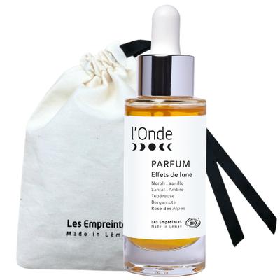L'ONDE le Parfum  unisexe - Les Empreintes made in Léman - Parfums et eaux de toilette