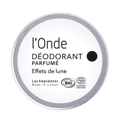 L'ONDE le Déodorant  unisexe - Les Empreintes made in Léman - Hygiène