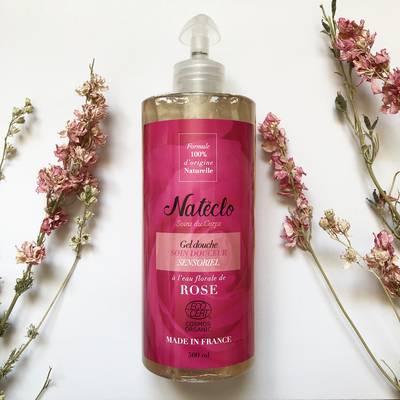 Gel douche à la rose - Natéclo - Hygiène