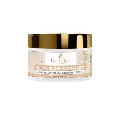 Crème riche hydratantte - Biothalys - Visage