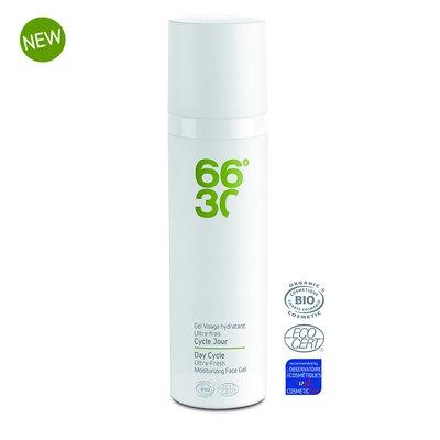 Cycle Jour - Gel Hydratant Ultra-frais - 66°30 - Visage