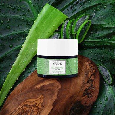 Crème Neutre Visage À L'Aloe Vera - Rendez-vous Nature - Visage